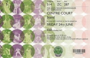 wimbledon invitation | Wimbledon tickets (invitations?)