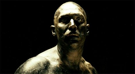 "Tom Hardy, ""Bronson"" (Nicolas Winding Refn, 2008)."