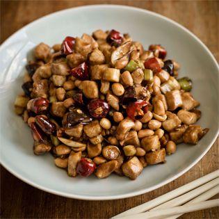 Rezept von Fuchsia Dunlop: Gong Bao Chicken with Peanuts