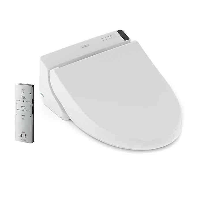 Toto Washlet C200 Elongated Bidet Toilet Seat With Remote Bed