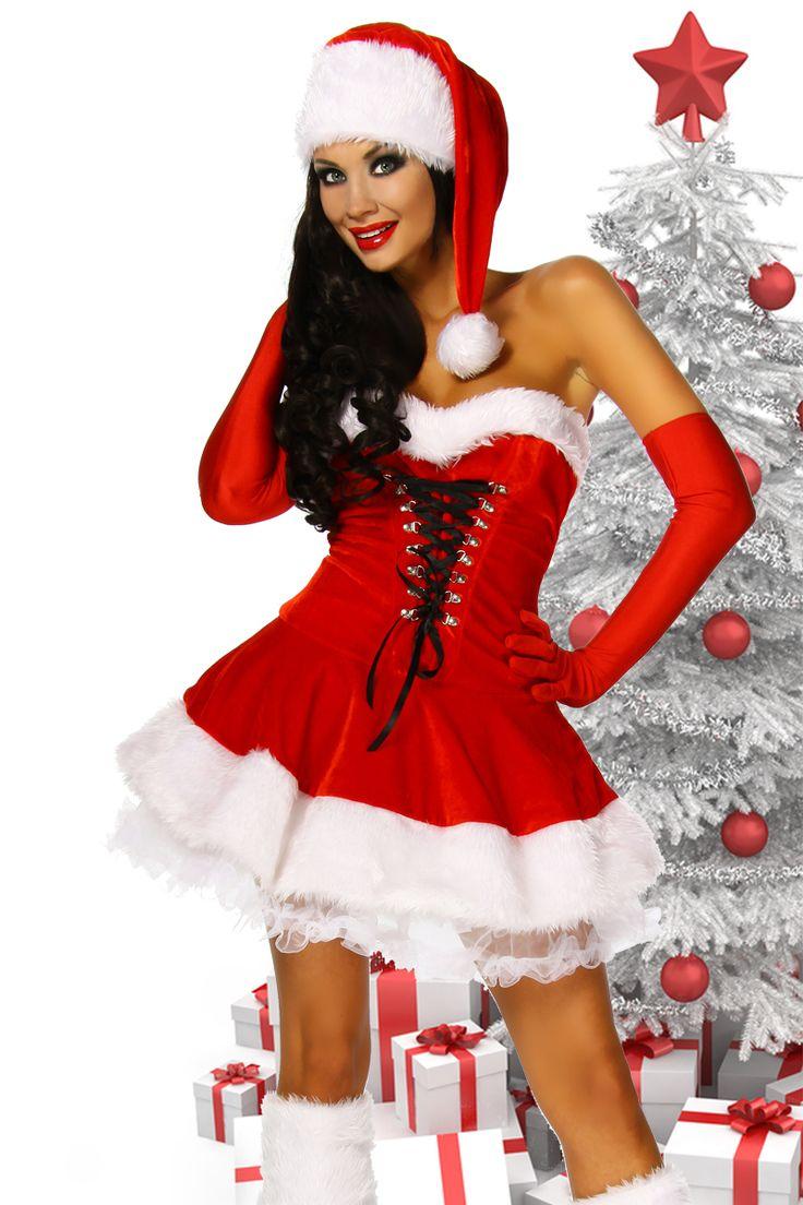 Was für ein wunderschönes #Weihnachtskleid in den Farben rot/weiß. https://www.burlesque-dessous.de/geschenkefinder/geschenke-ueber-50-euro/sexy-weihnachtskleid