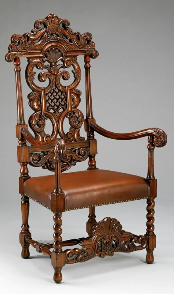 Indian royal maharaja hand carved chair @shakuntimpex #Handcrafted #handcarved #furniture #chair