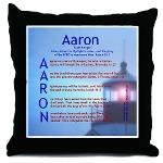 "Using the meaning of the name Aaron (""Light Bringer""), this acrostic  name blessing poem features an encouragement or blessing Scripture verse that starts with each letter in the name. ""Aaron"" acrostic name blessing poem includes verses from Isaiah, Proverbs, 2 Thessalonians, and the Psalms."