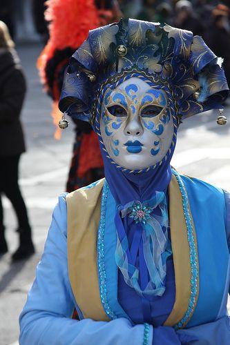Carnaval Venecia máscaras y trajes