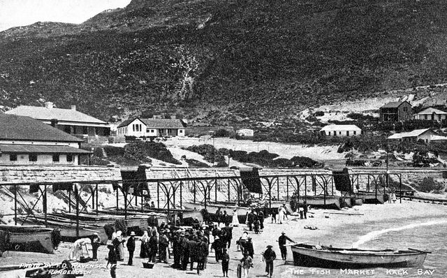 The Fish Market at Kalk Bay