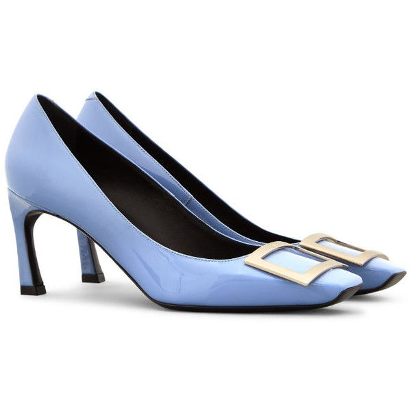 010299b847e9 Belle Vivier Trompette Pumps in Patent Leather ( 695) ❤ liked on Polyvore  featuring shoes
