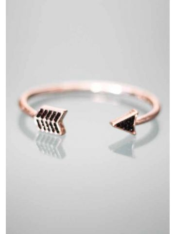 ACCESSORIES :: All Accessories :: Cupid Arrow Bracelet (Rose Gold) - - Open Closet | Online Fashion Store | Womens Clothing and Accessories | Brisbane, Queensland, Australia