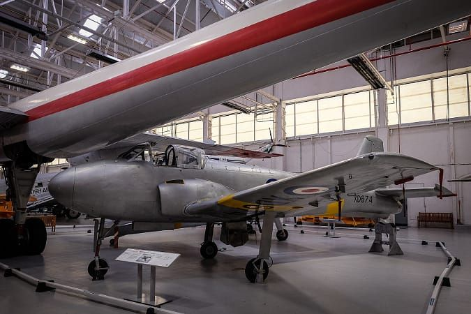 RAF Cosford Jet Provost