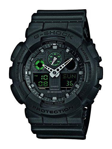 G-Shock Men's Watch GA-100MB-1AER - http://www.darrenblogs.com/2017/03/g-shock-mens-watch-ga-100mb-1aer/