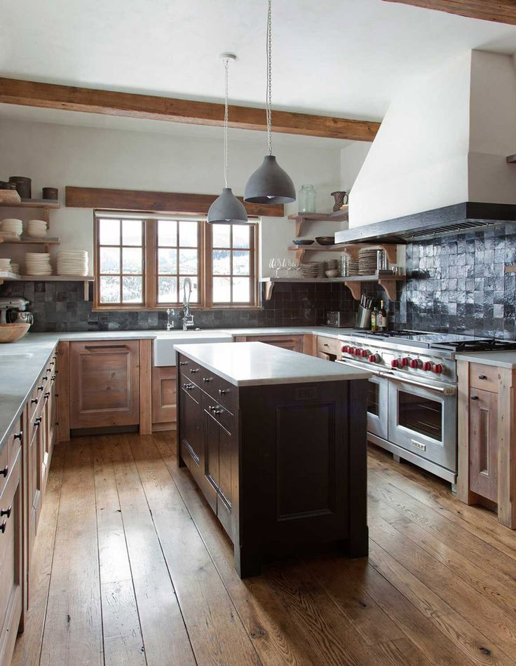 Rustic Chic Revival In Classic Cabin With Eclectic Details KitchenShabby InteriorsChalet ChicKitchen FurnitureFurniture