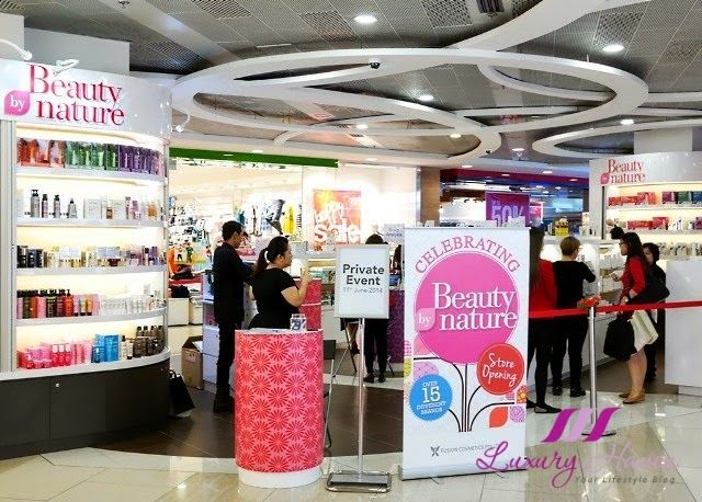 Beauty By Nature Opens their 4th Outlet At Causeway Point! #beauty #beautyblogger #beautybynature #lifestyleblogger #skincare #hair #causewaypoint #gss2014 #sgblogs #shopping #sale #promotion #nuxe #lierac #phyto #shampoo #beautyreview #huileprodigieuse #trilogy #haircare #hairloss #medavita #keranove #fragrance #parfum #perfume #kids #pretty #cute #teddybear #kokeshi