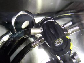On completion of testing and tuning regulators I leak test all components to ensure it is free of leaks.