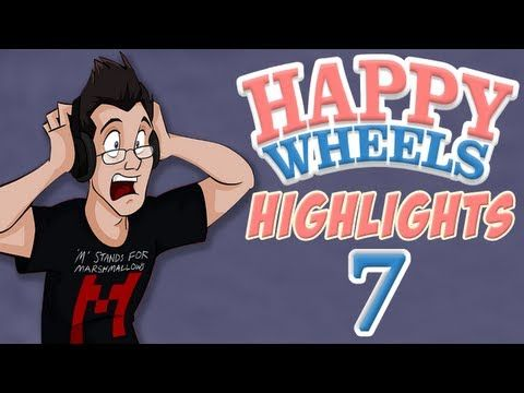 Markiplier Happy Wheels Highlights #7. Go like and subscribe! He's hilarious! :D