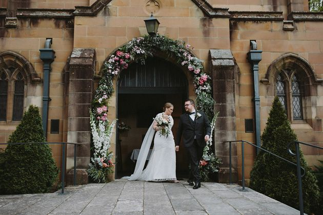 Hayley + Aaron | An industrial Lithgow State Mine wedding