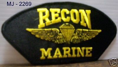 USMC  RECON MARINE Embroidered Patch