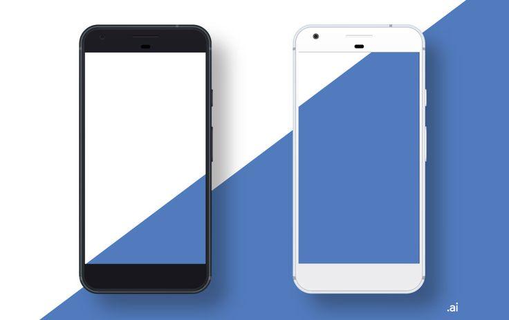 Google Pixel Mockup Freebie