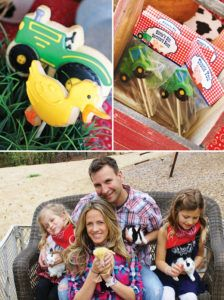 farm tractor cookies & chocolate pops