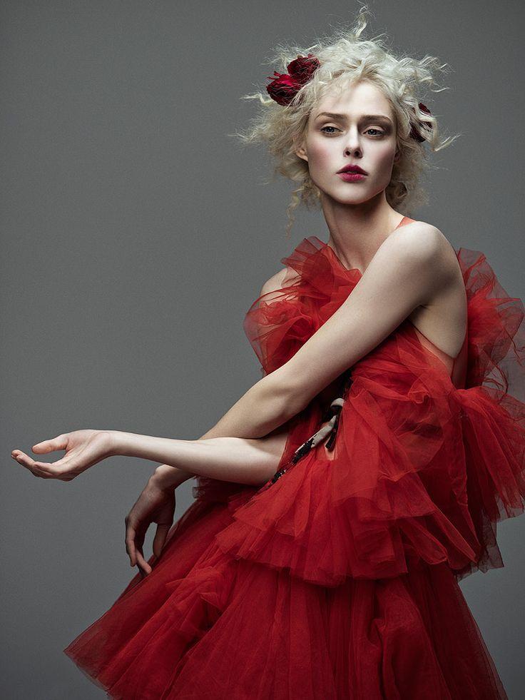 Coco Rocha by Zhang Jingna | Harper's Bazaar Vietnam Jan 2017 #fashion #photography #editorial #studio #vogue #elle #couture #dress #gown #supermodel