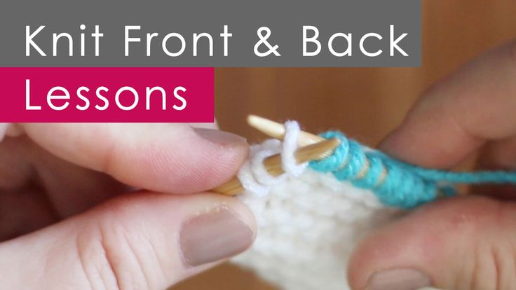 Knitting Terms Kfb : Best knit how to techniques images on pinterest
