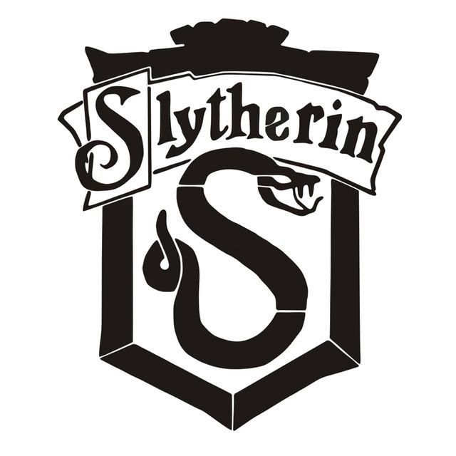 Harry Potter House Slytherin Crest With Images Harry Potter