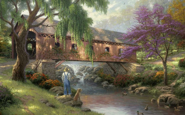 Thomas Kinkade Art - Google Search