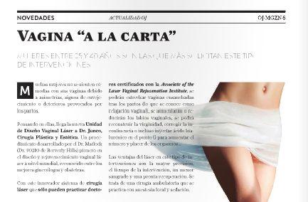 "Novedades: Vagina ""A la Carta"" #cirugia #genital #Barcelona"