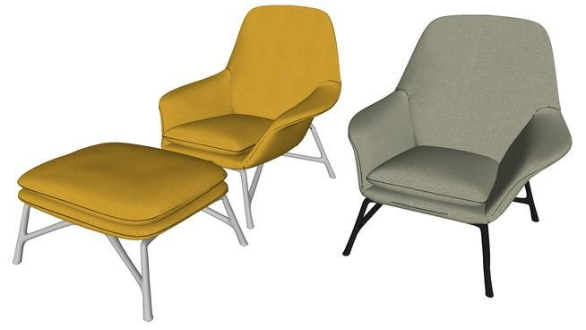 Large preview of 3D Model of Minotti Prince