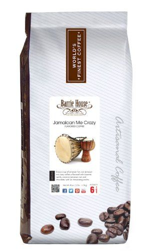 Barrie House Jamaican Me Crazy Coffee (40 oz. (2.5 lb) bag) - http://teacoffeestore.com/barrie-house-jamaican-me-crazy-coffee-40-oz-2-5-lb-bag/