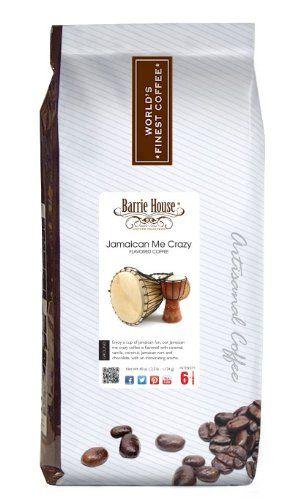 Barrie House Jamaican Me Crazy Coffee (40 oz. (2.5 lb) bag) - http://teacoffeestore.com/barrie-house-jamaican-me-crazy-coffee-40-oz-2-5-lb-bag/