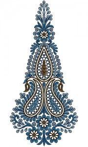Stylish & Fashionable Kali Embroidery Design 14648