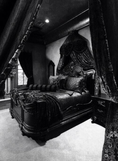 26 besten .: Gothic Bedrooms :. Bilder auf Pinterest | Schlafzimmer ...