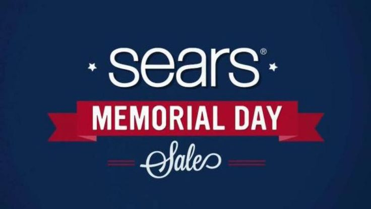Holiday Sale: Step into #SearsStyle for Memorial Day Weekend at Sears   Photo Source: Sears.com