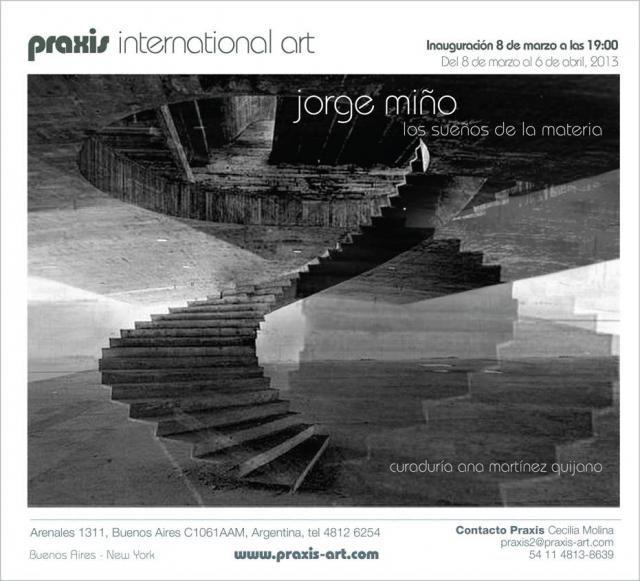 Foto de TAPA: Los sueños de la materia de Jorge Miño en Praxis | ramona
