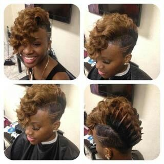 81 best 27 piece hairstyles images on pinterest short hairstyle short n fierce find this pin and more on 27 piece hairstyles pmusecretfo Image collections