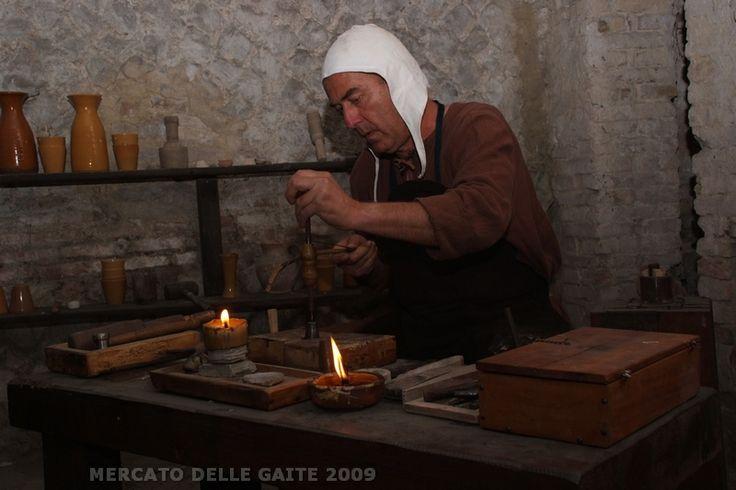 Ricostruzione di una Zecca Medievale - Gaita San Giorgio