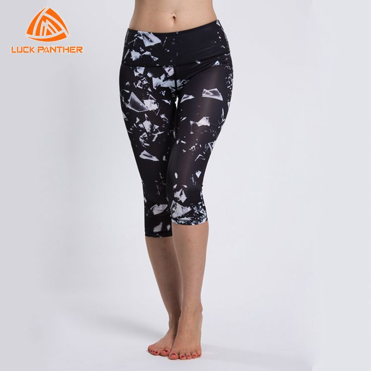 LUCK PANTHER Hot Elastic Yoga Sports Pants Slim Tights Fitness Leggings Gym Sweatpants Exercise Clothes Women Running Trousers K #Affiliate