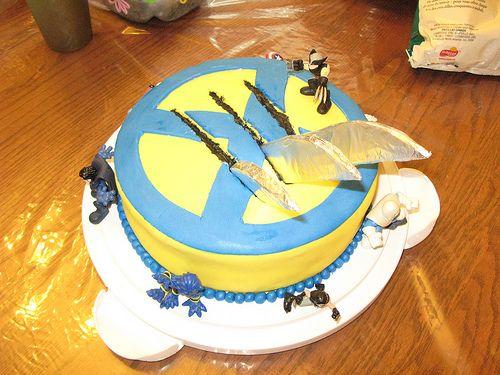Wolverine Cake   Flickr - Photo Sharing!