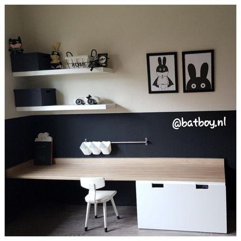 20 beste idee n over jongens bureau op pinterest zwevend bureau rustiek bureau en rustieke - Tiener met opbergruimte ...