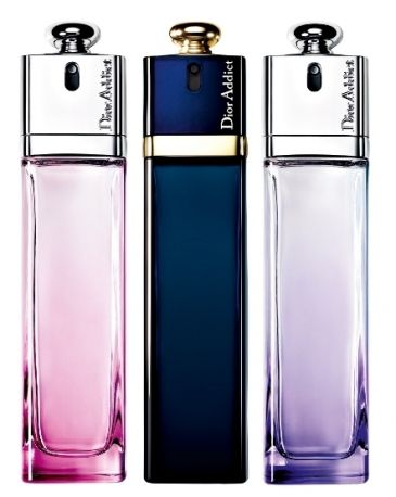 Dior Addict in tre version... I would love to have the small sizes to put in my purse