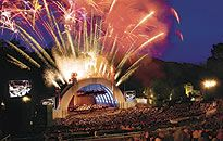 The Hollywood Bowl is the largest outdoor amphitheater in the United States. During the summer, The Hollywood Bowl is a main destination, attracting thousands of concert enthusiast, enjoying musical talents from around the world. It is a fascinating experience for people of all ages. Bring a picnic basket and a bottle of wine!