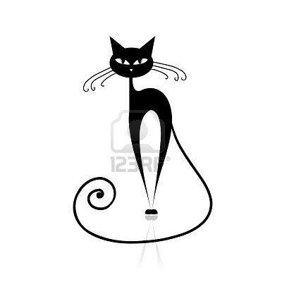 Ms de 25 ideas increbles sobre Silueta de animal en Pinterest