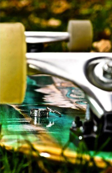 Fantasy Friday ~ Skateboard Wedding