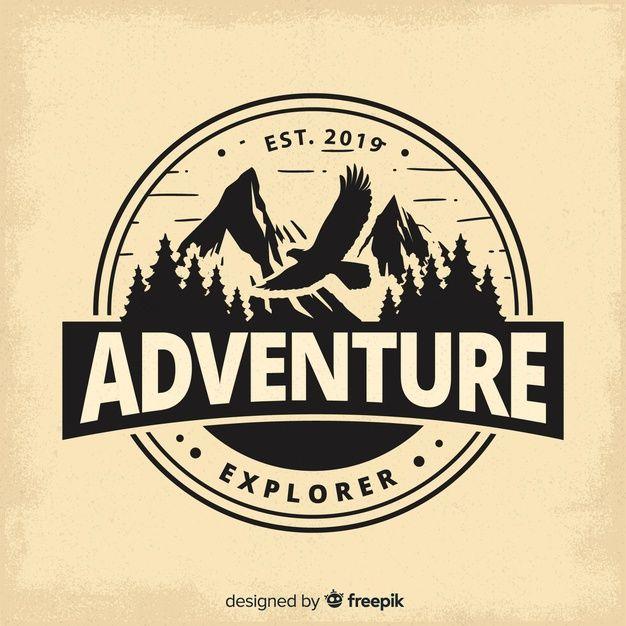 Vintage Adventure Logo Background Adventure Logo Logo Background Outdoor Logos