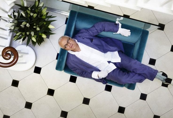 Manolo Blahnik, Milano celebra il signore delle scarpe