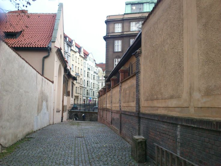 Small Pinkas Street in Prague
