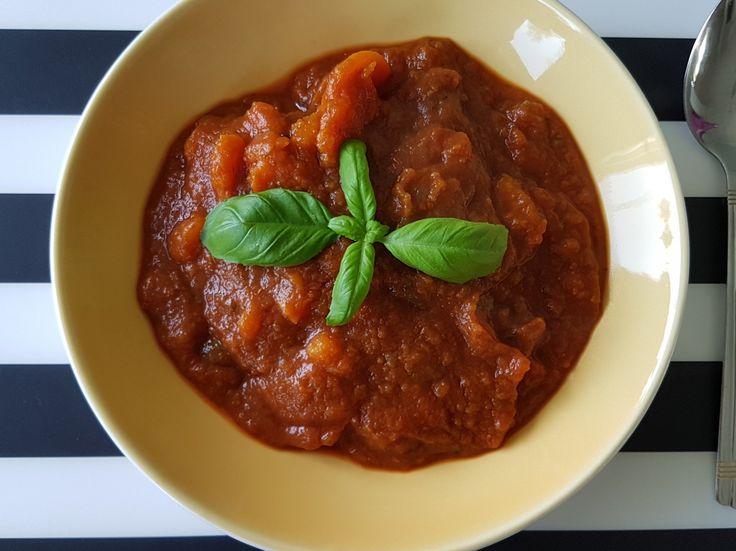 Day 10 - zupa pomidorow-dyniowa
