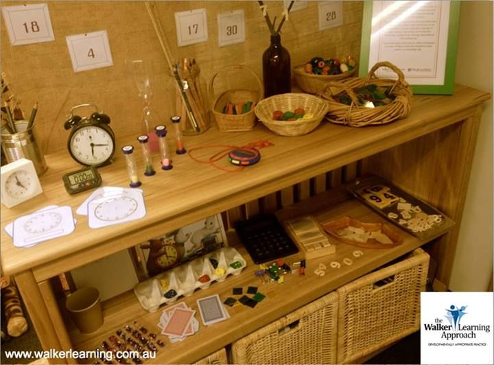 """Numeracy Resource learning area from the Early Life Foundations Demonstration Unit... image shared by Walker Learning Approach: Personalised Learning ("""",)"""