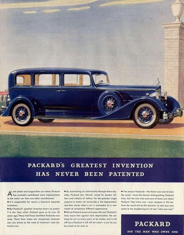 '34 Packard
