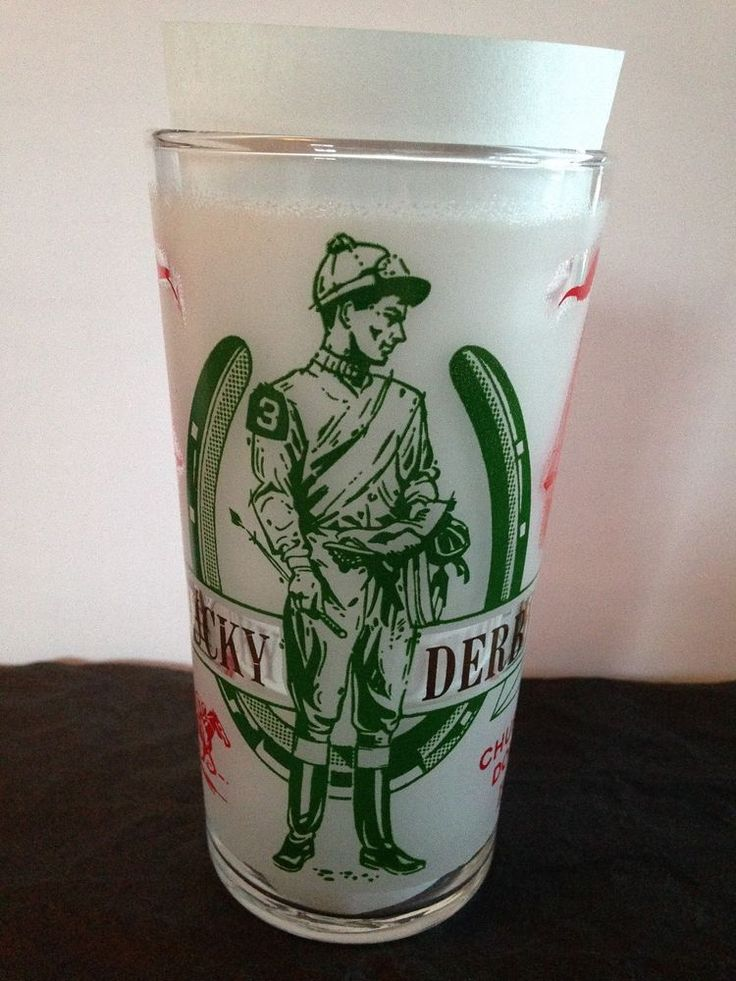 1969 Kentucky Derby Glass #Libbey | Cool Things for Sale ...