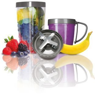 Buy NutriBullet Deluxe Upgrade Kit at Argos.co.uk - Your Online Shop for Blenders and smoothie makers.